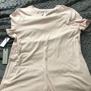 NWT babaton soft pink t-shirt